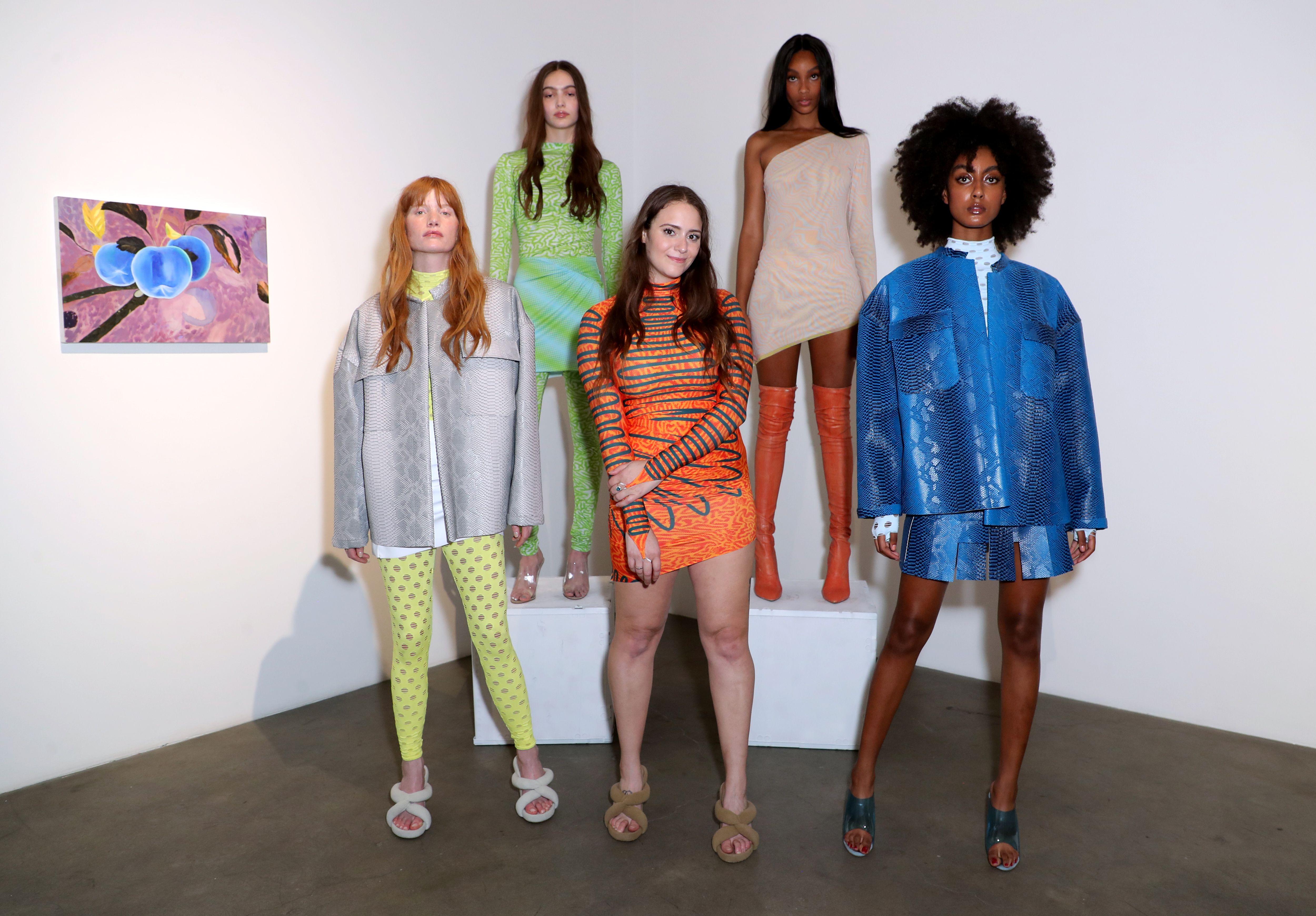 Maisie Wilen and modelsMaisie Wilen Event, Presentation, Night Gallery, Los Angeles, USA - 05 Jun 2019