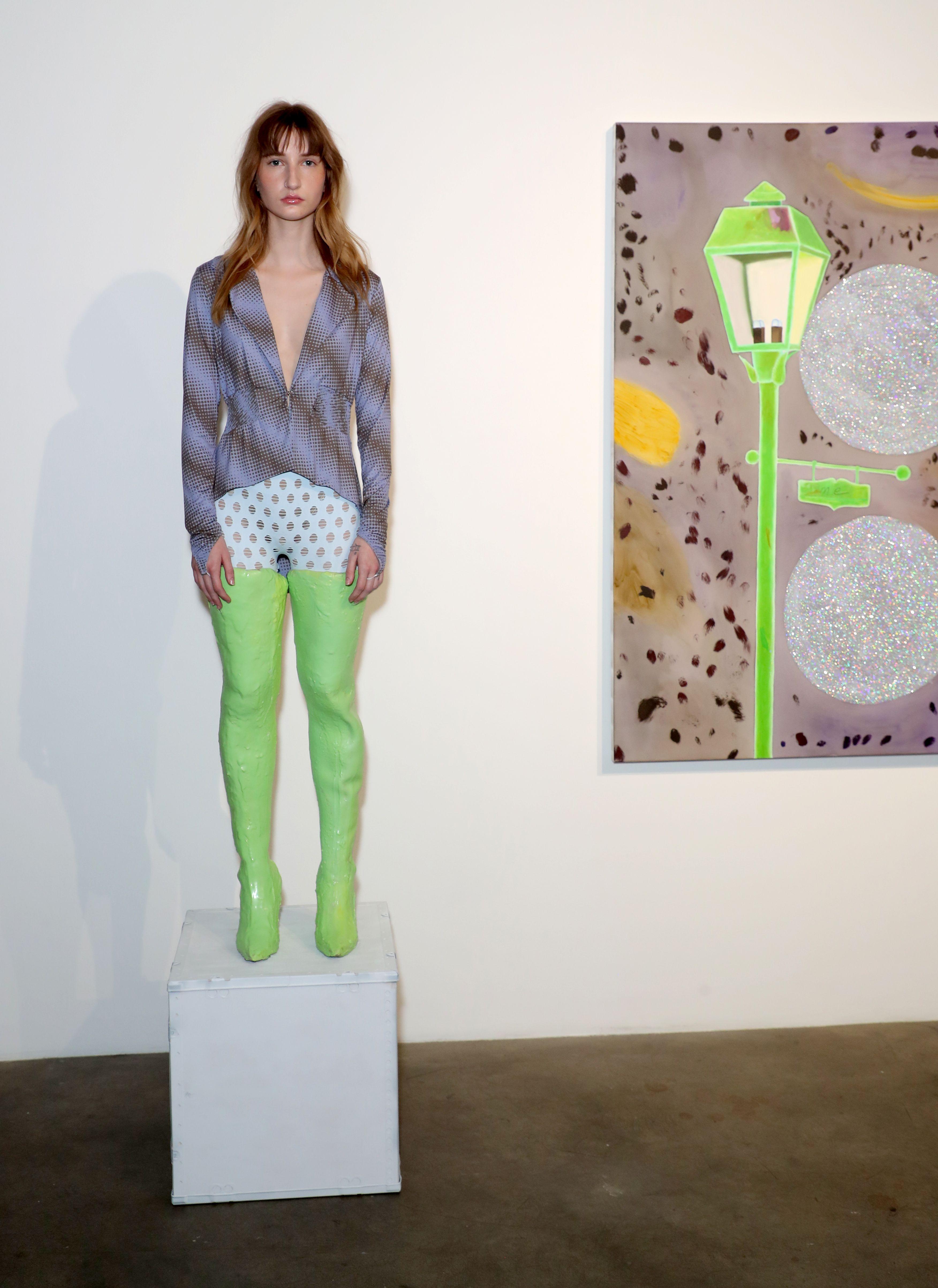 ModelMaisie Wilen Event, Presentation, Night Gallery, Los Angeles, USA - 05 Jun 2019