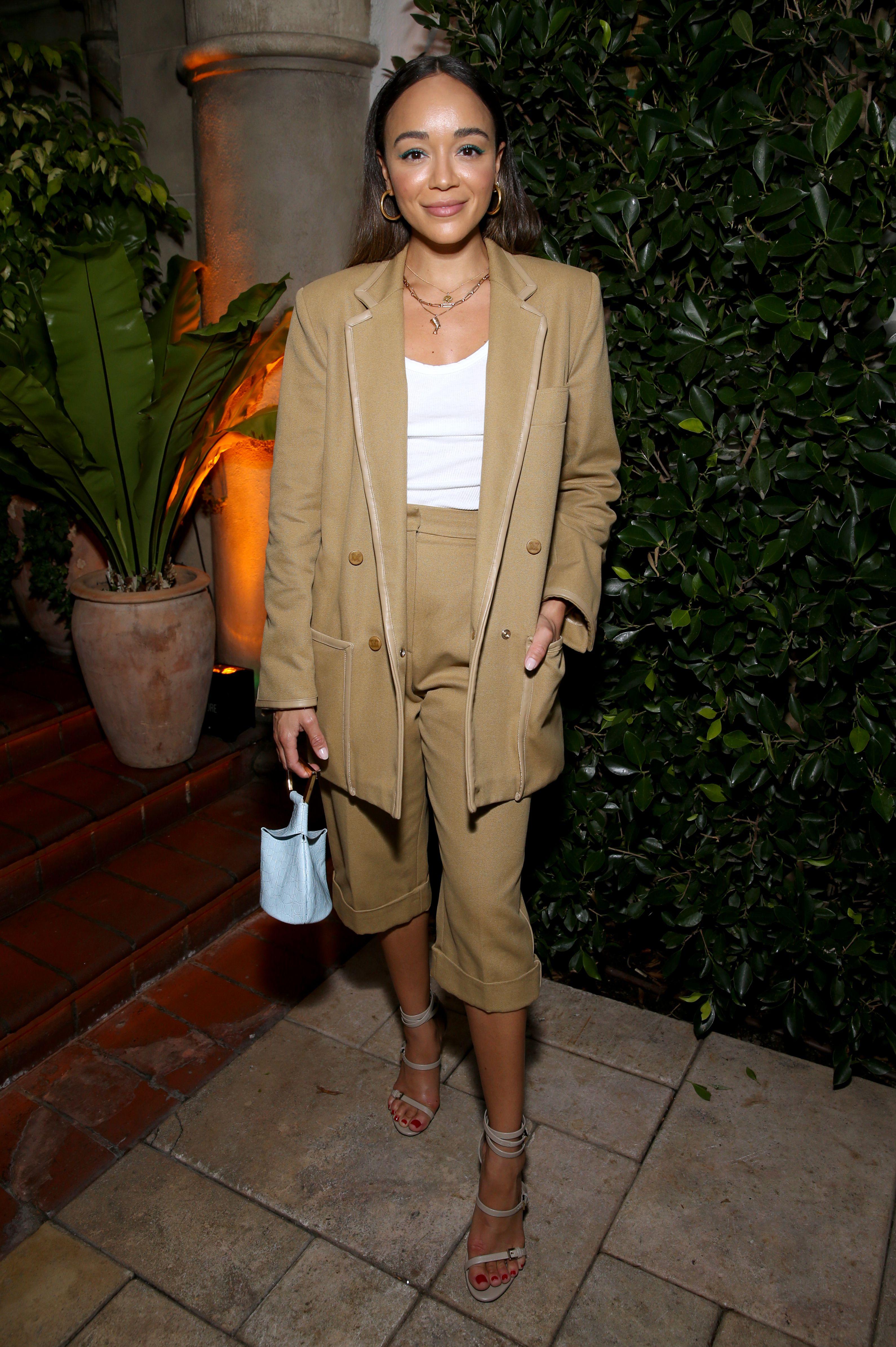 Ashley MadekweMaxMara Women in Film Event, Inside, Chateau Marmont, Los Angeles, USA - 11 Jun 2019 Wearing Max Mara
