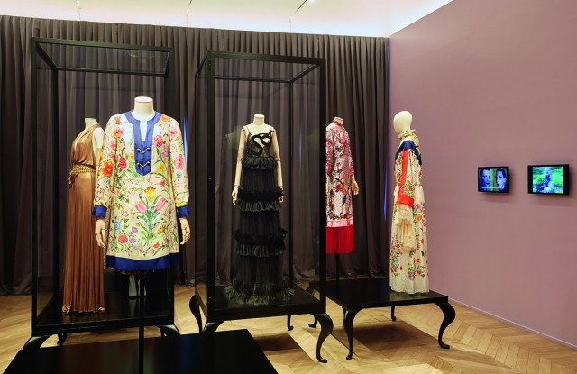 A view of the new exhibition at the Gucci Garden Galleria.