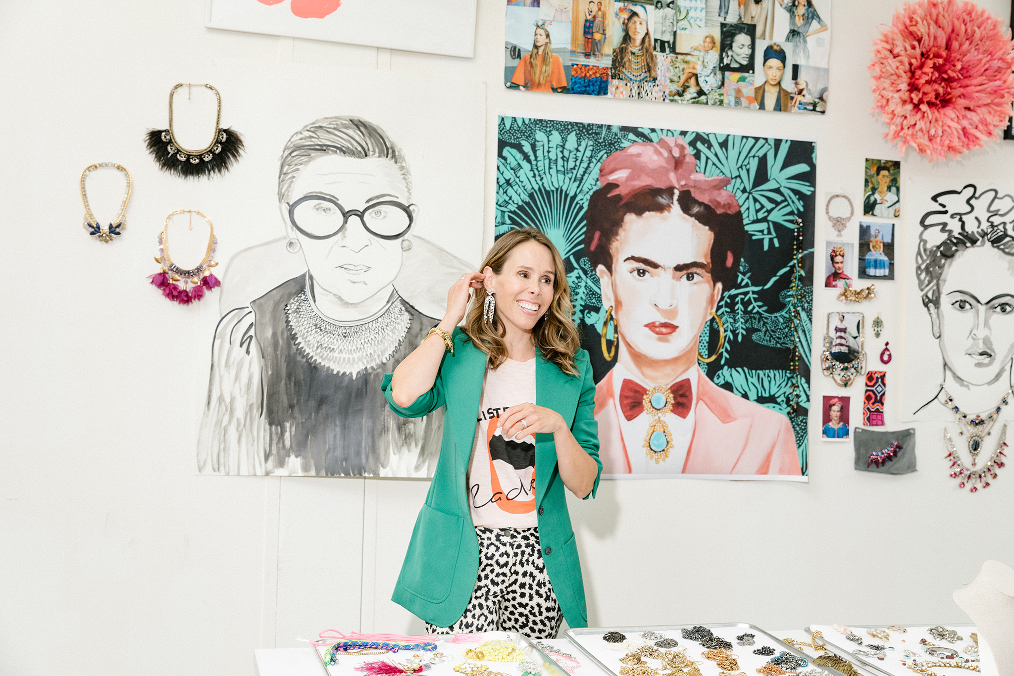 Stella and Dot creative director Blythe Harris at her creative space in Sausalito, CA, June 4, 2019. Jason Henry for WWDStella and Dot creative director Blythe Harris