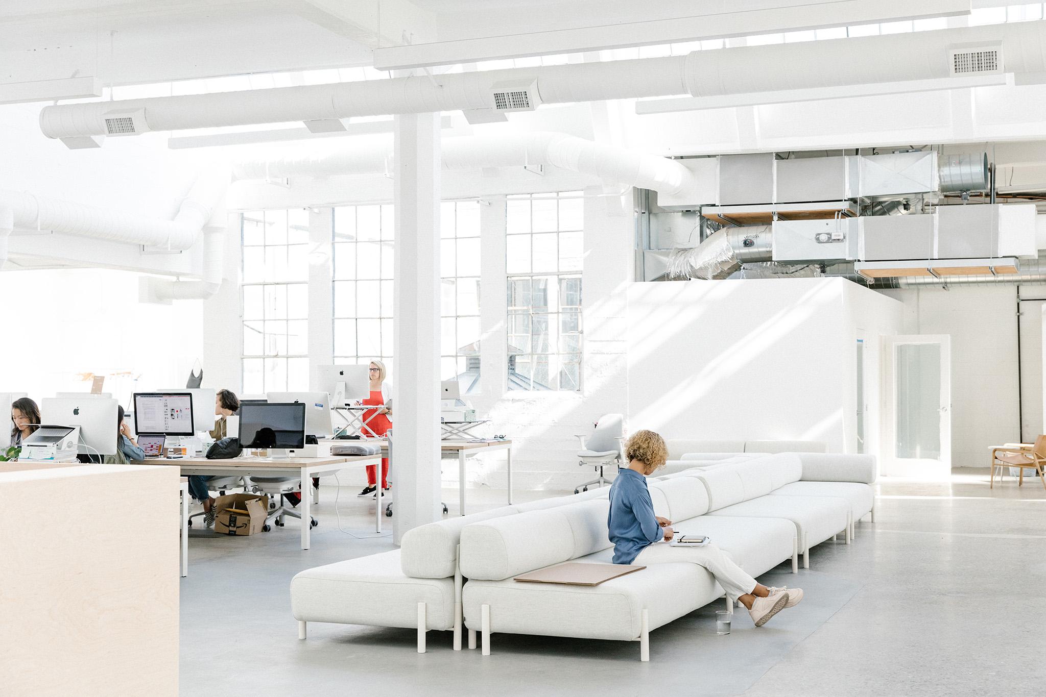 The Everlane headquarters in San Francisco, CA, June 7, 2019. Jason Henry for WWDInside the Everlane studio