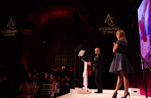 Scene at the ACE Awards.
