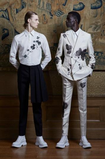 Alexander McQueen Presentation Men's Spring 2020 photographed in London on 09June 2019