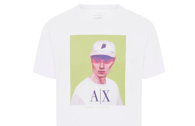 A T-shirt from the A|X St_Art capsule