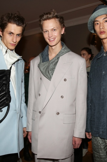Backstage at Paul Smith  Men's Spring Summer 2020