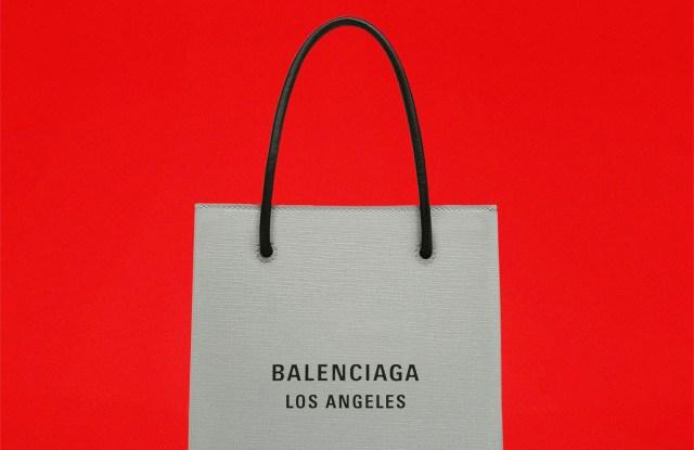 """Balenciaga """"Los Angeles"""" shopper"""