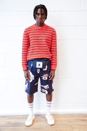 Band Of Outsiders Presentation Men's Spring 2020 photographed in London on 08 June 2019