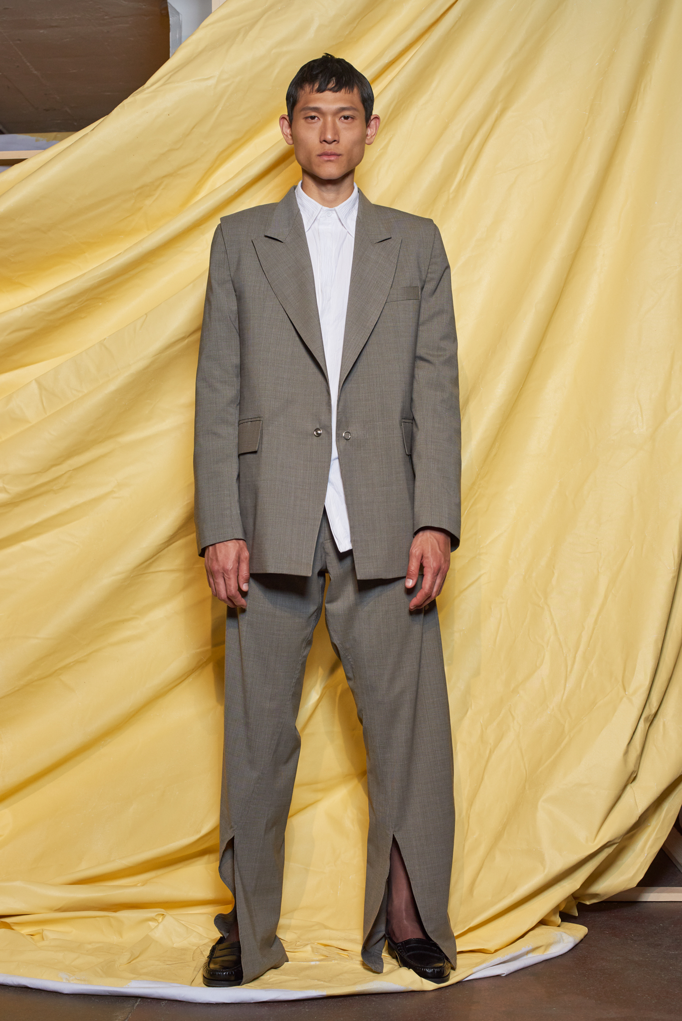 Bianca Saunders Presentation Men's Spring 2020 photographed in London on 09 June 2019