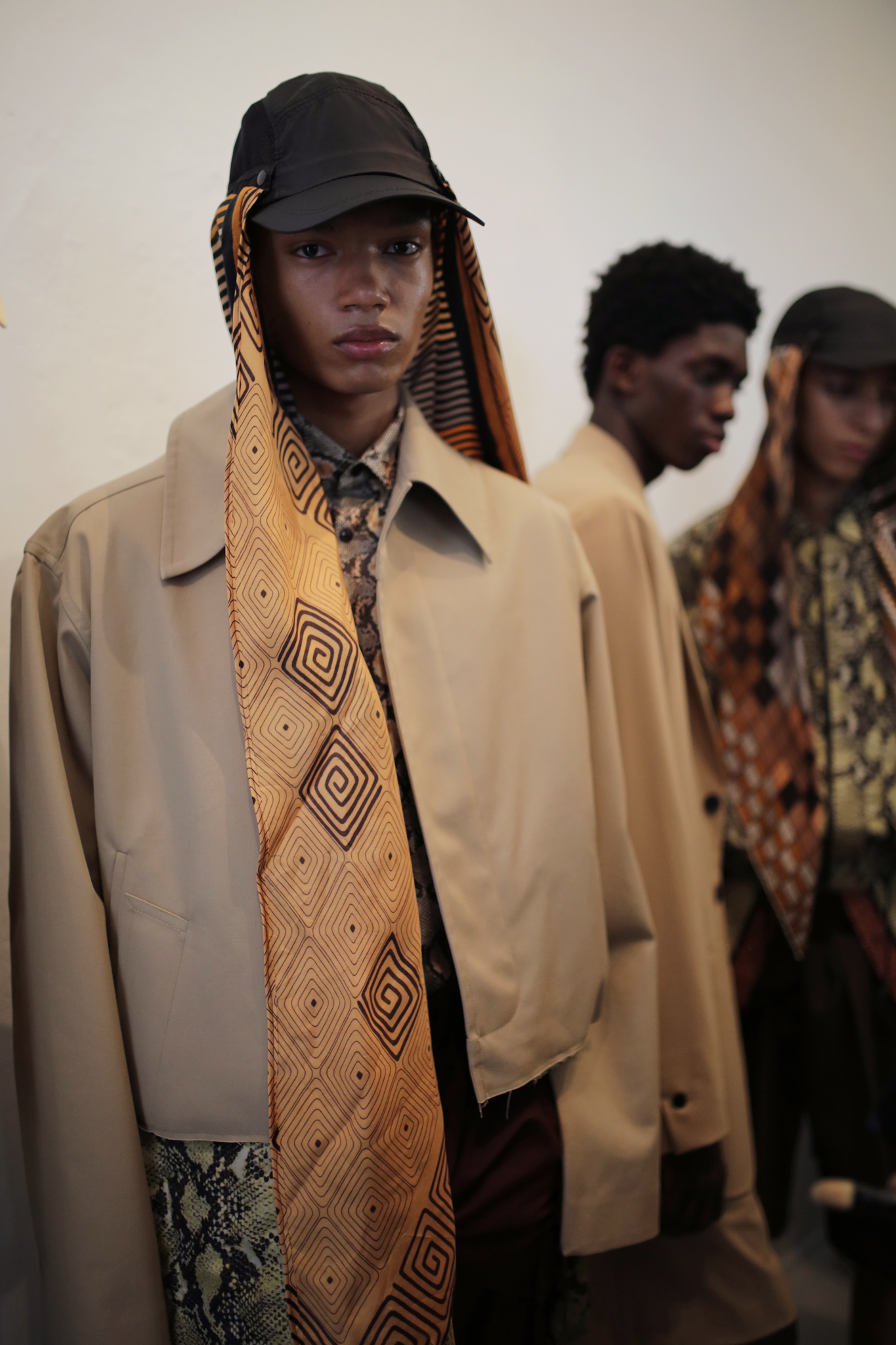 Backstage at CMMN SWDN Men's SS 202
