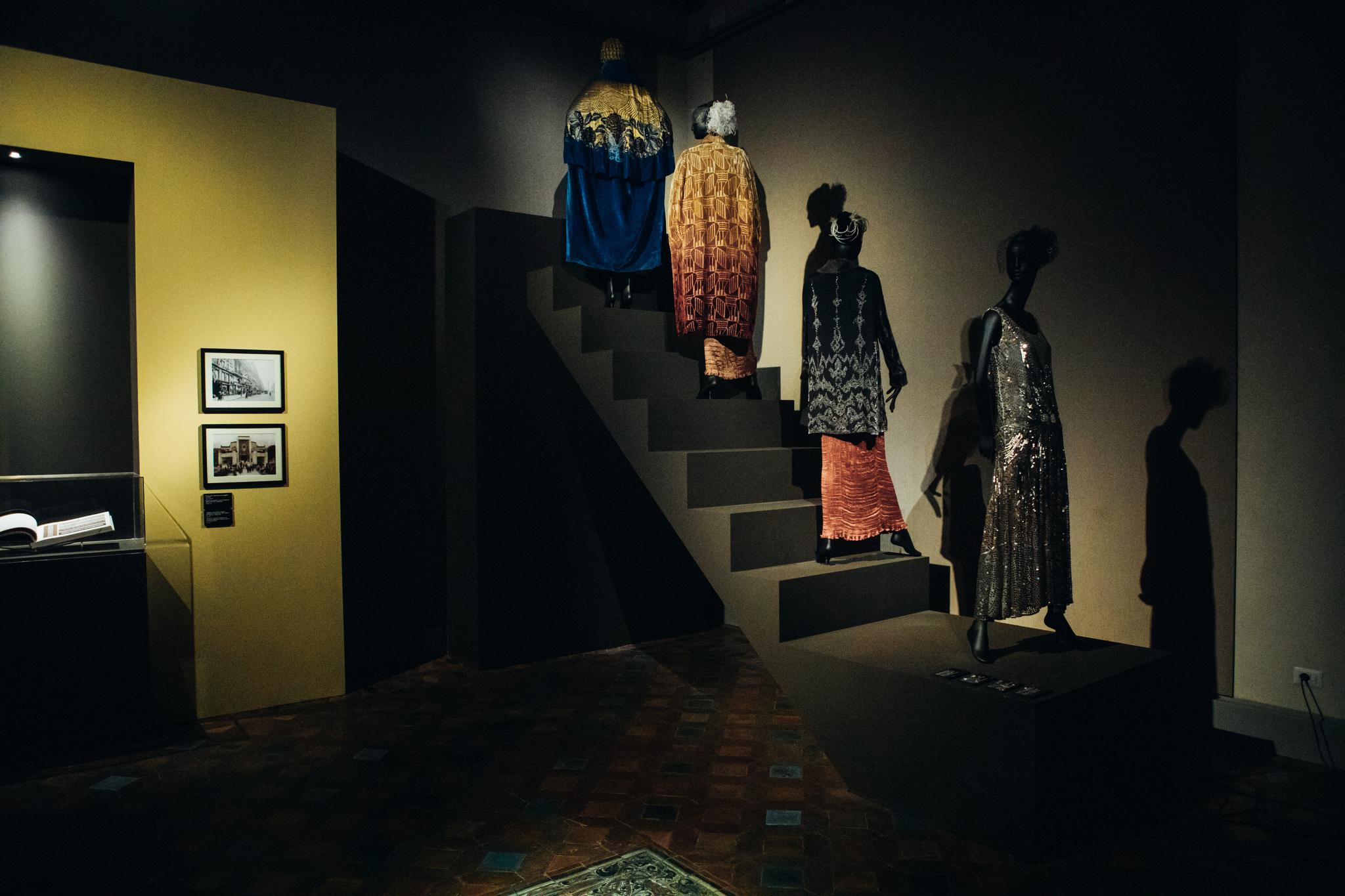 Atmosphere at the Bulgari exhibition.