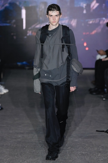 C2H4 Men's Spring 2020 photographed in London on 09 June 2019