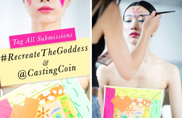 Casting Coin is hosting a contest through the end of June for makeup artists with Rodin Olio Lusso's The Goddess Aurora makeup collection.