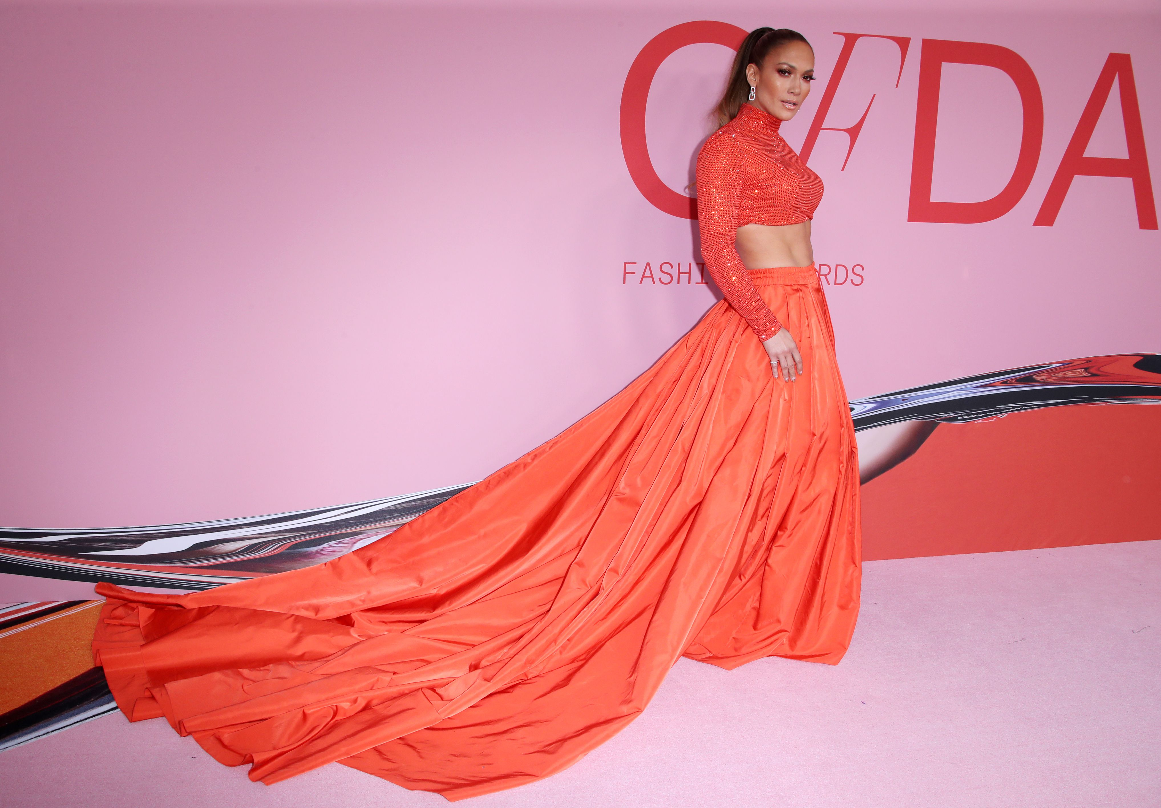Jennifer Lopez, CFDA Awards 2019