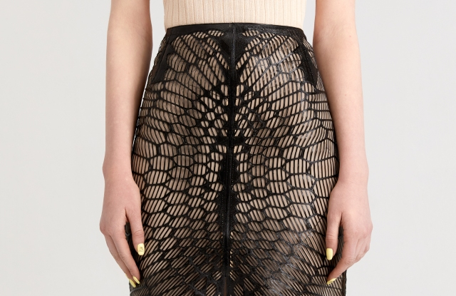 "Julia Daviy's ""Zero Waste Skirt."" Photo courtesy of Julia Daviy."