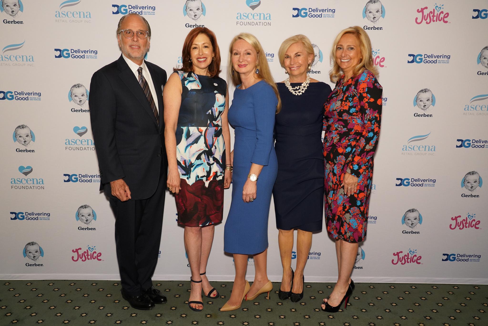 Allan Ellinger, Lisa Gurwitch, Andrea Weiss, Karen Bromley and Carole Postale.
