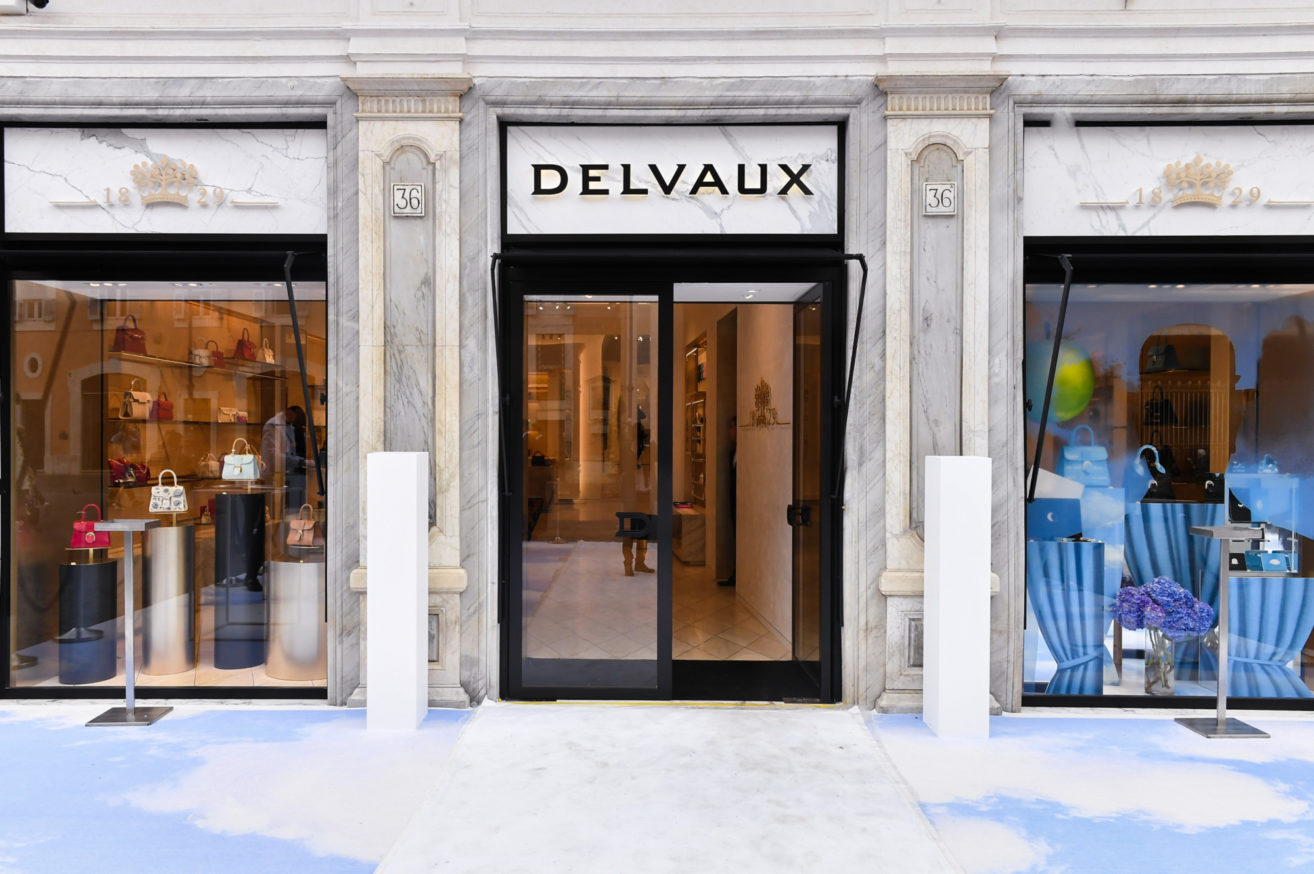 Delvaux has been expanding its presence steadily around the world, including this boutique in Rome which opened in May.
