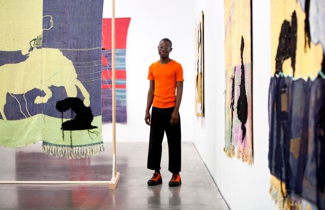 """Diedrick Brackens' show """"Darling Divined"""" at The New Museum"""