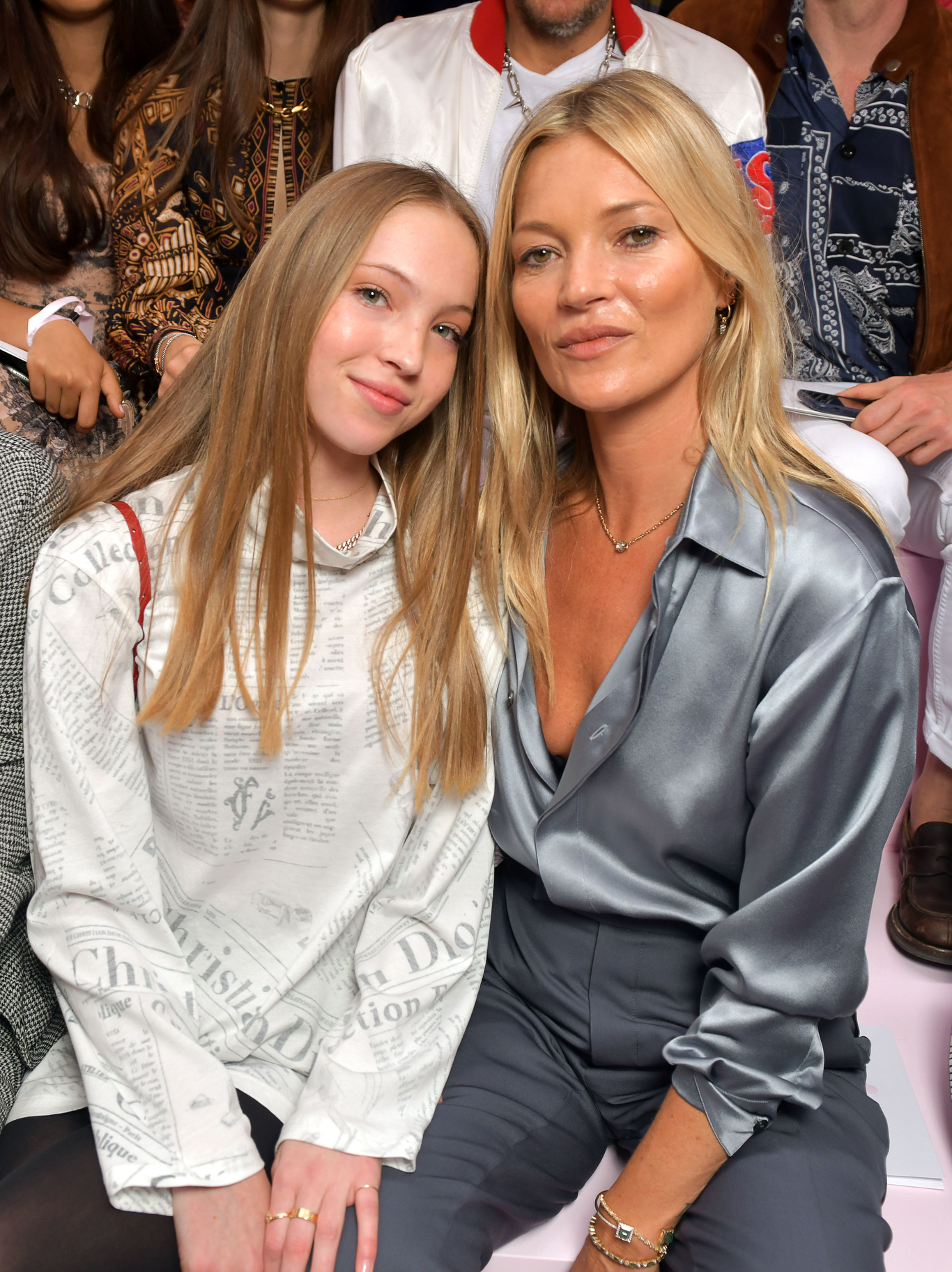 Kate Moss and daughter Lila Grace Moss Hack