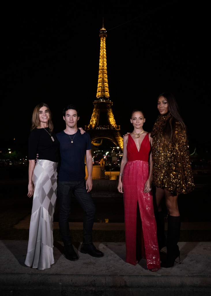 Carine Roitfeld, Joseph Altuzarra, Nicole Richie and Naomi Campbell.