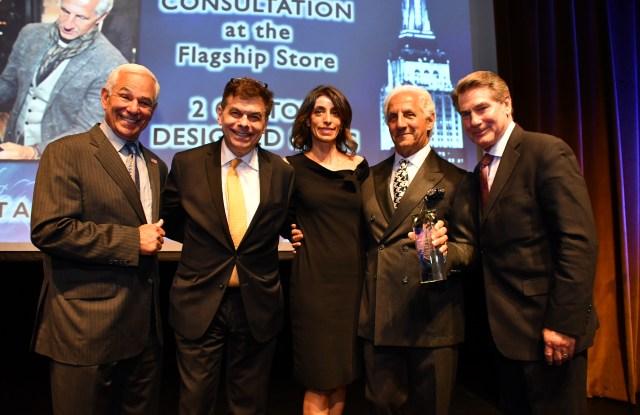 Bobby Valentine, Ed Randall, Laura Gallo, Joseph Abboud and Steve Garvey.