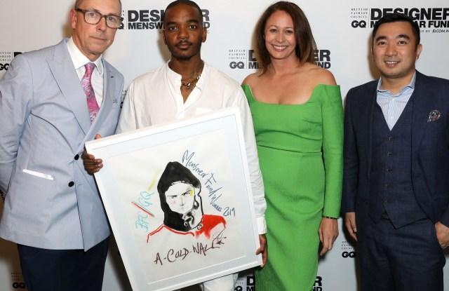 BFC/GQ Menswear Fund Award
