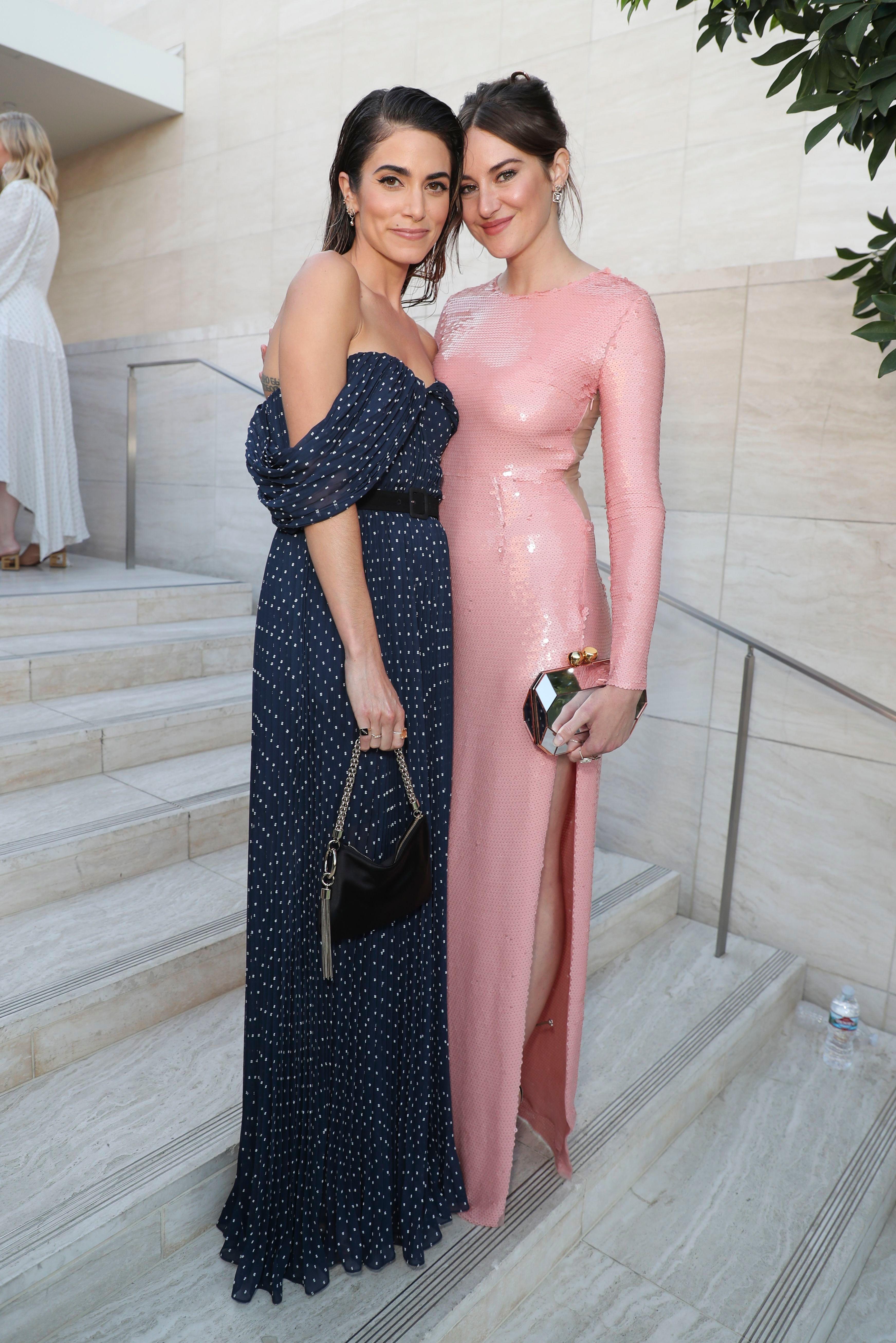 Nikki Reed and Shailene Woodley