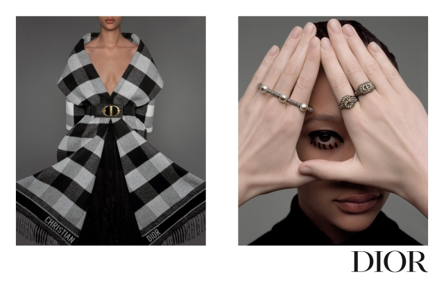 An image from the Dior campaign shot by Brigitte Niedermair.