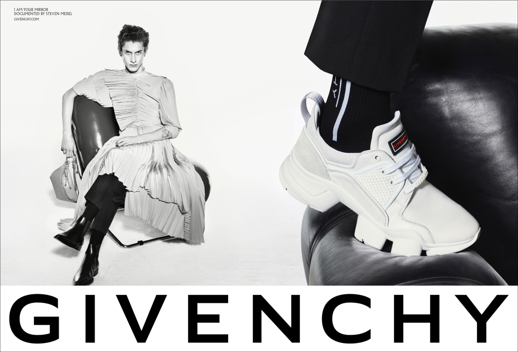 Givenchy's spring 2019 advertising campaign.