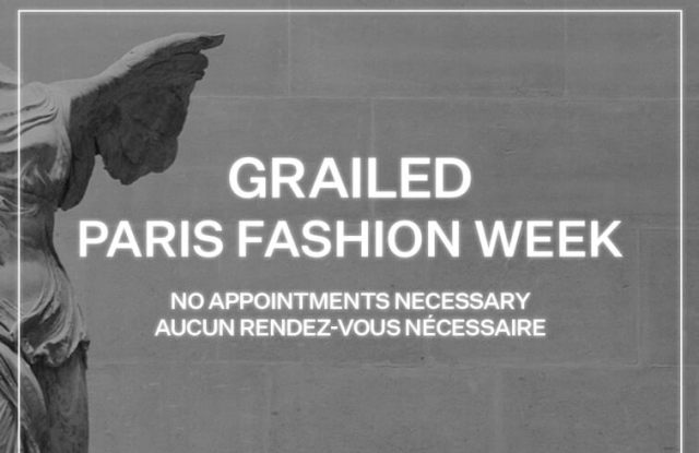 Grailed has opened a pop-up during Paris Fashion Week