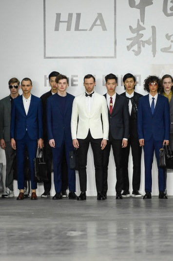 HLA x AEX by JD.COM Men's Spring 2020 photographed in London on 08 June 2019