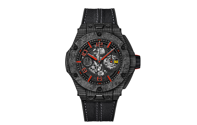Baselworld: Hublot's Big Bang Carbon Ferrari Scuderia