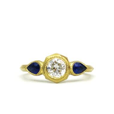 A 3-D printed ring, by Original Eve. Photo courtesy of Original Eve.