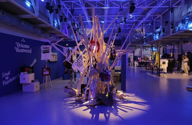 The scene at White Milano's WSM trade show.