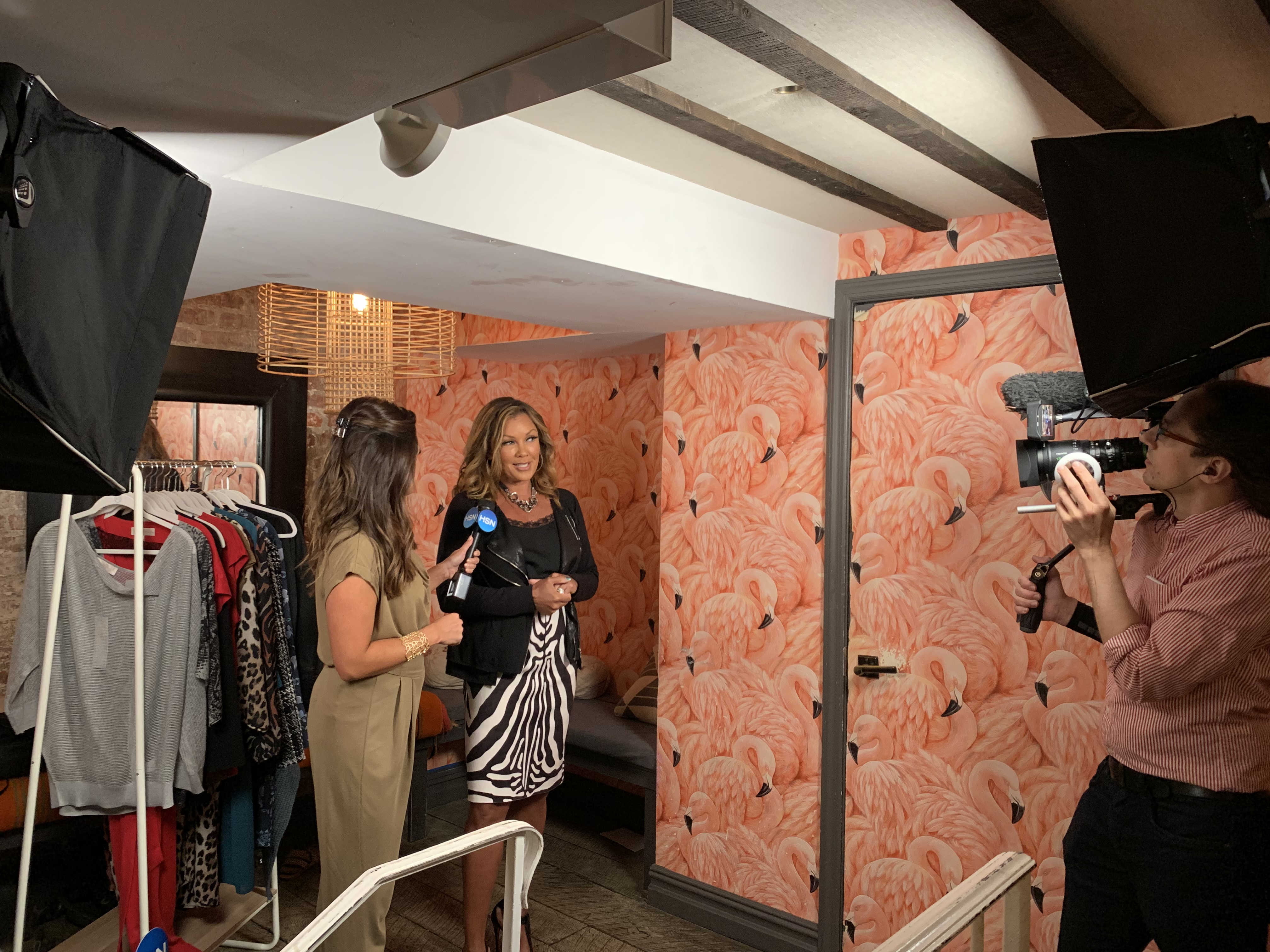Vanessa Williams in one of her looks at Claudette on Wednesday.