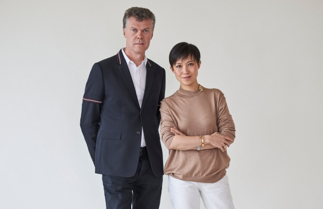 Pierre Denis and Sandra Choi