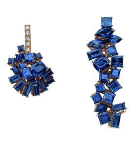 Gem Dior collection of pixels-style jewelry