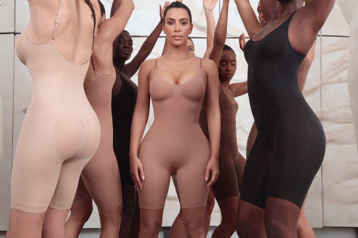 kim Kardashian takse on Spanx with new shapewear line kimono