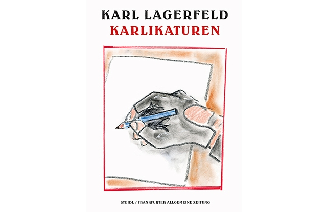 """The cover of """"Karlikaturen."""""""