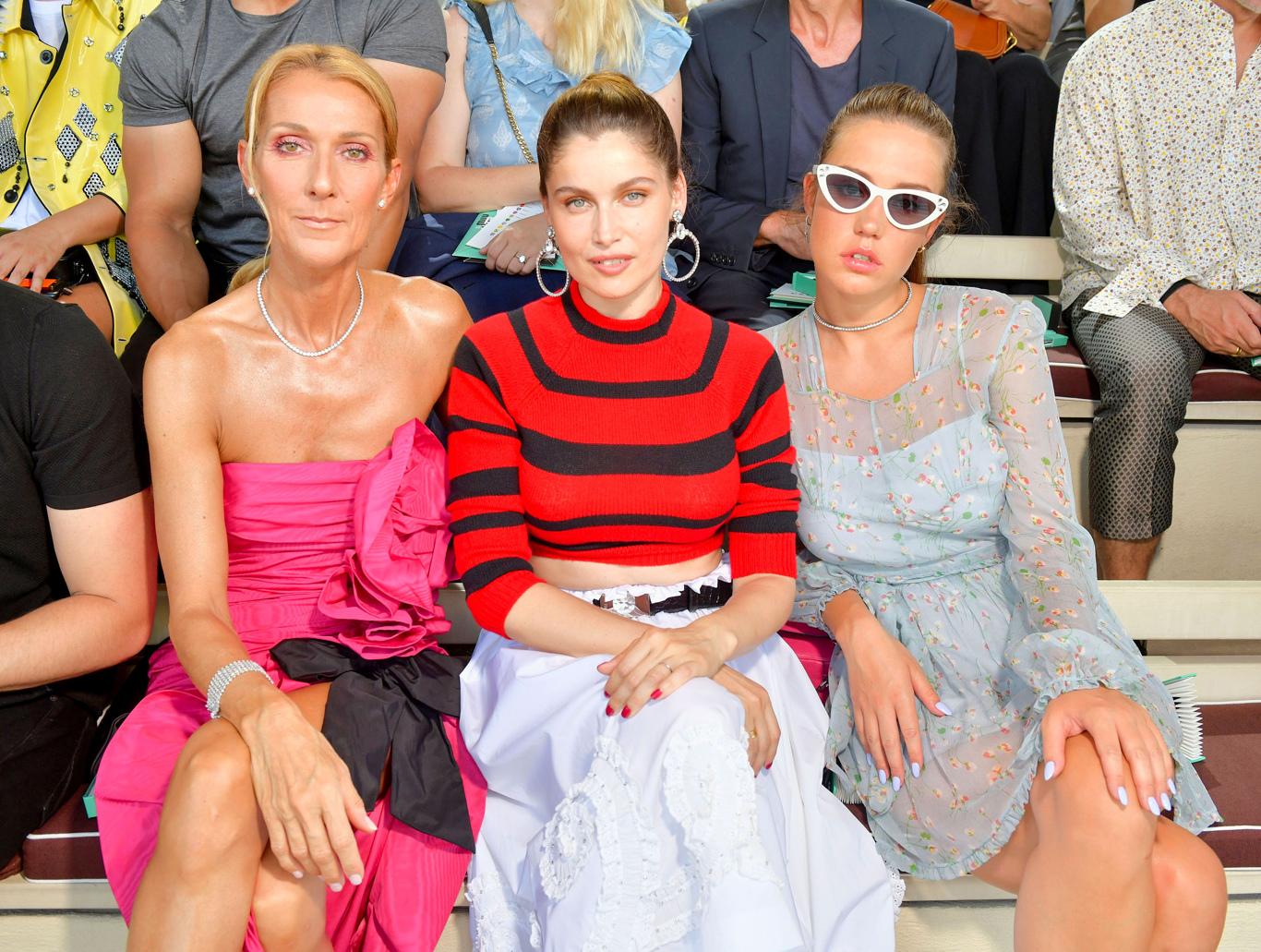 Celine Dion, Laetitia Casta and Adele Exarchopoulos