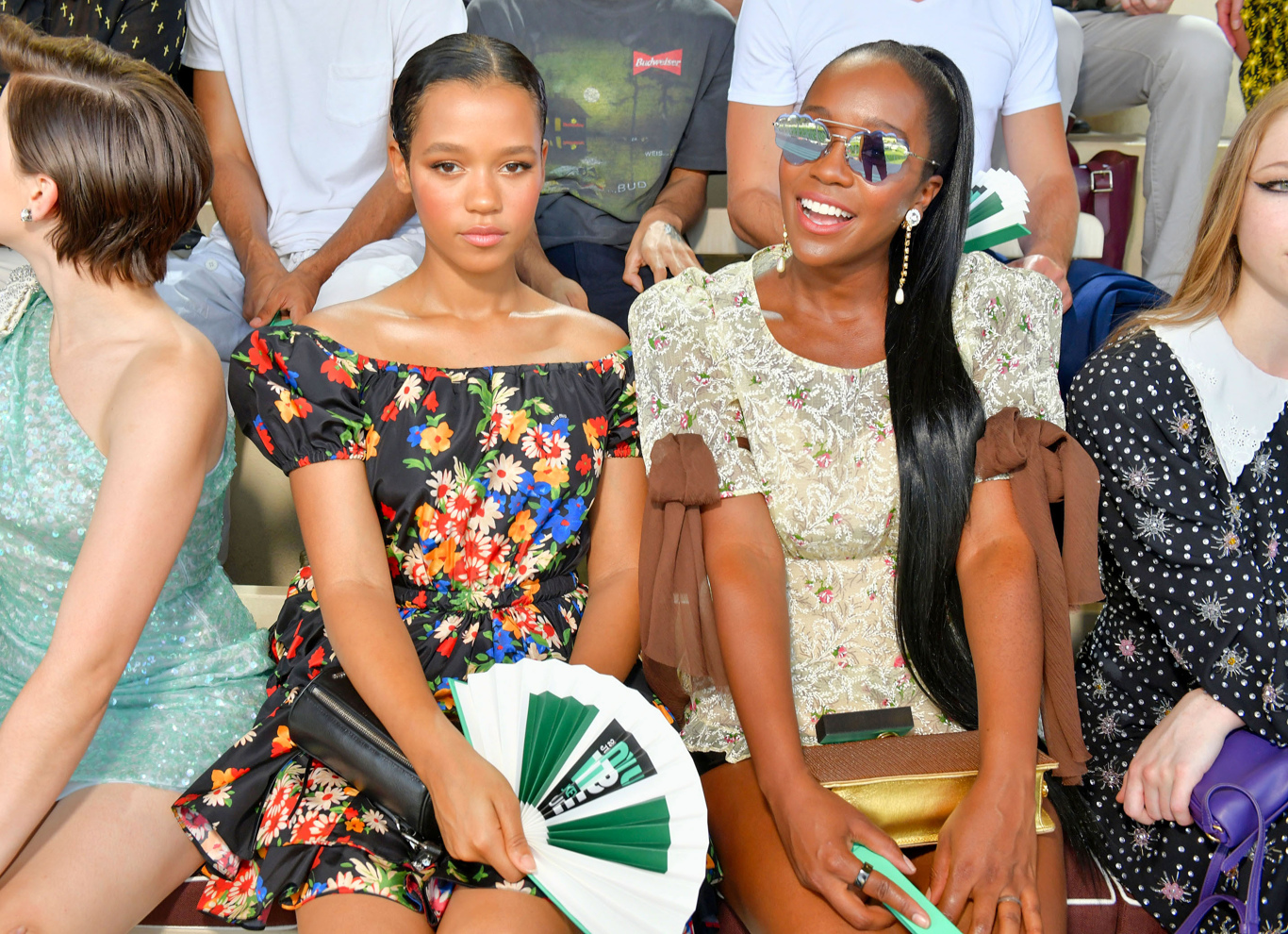 Taylor Russell and Aja Naomi King