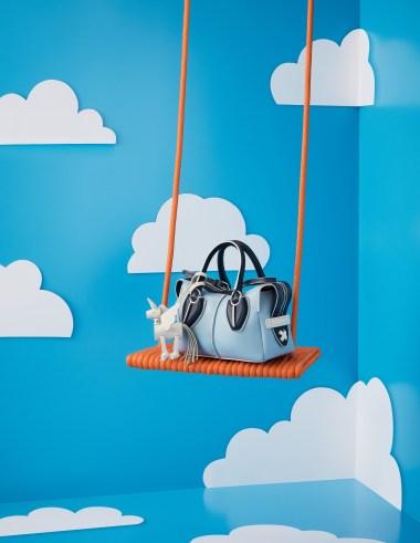Mr. Bags x Tod's limited-edition unicorn handbag