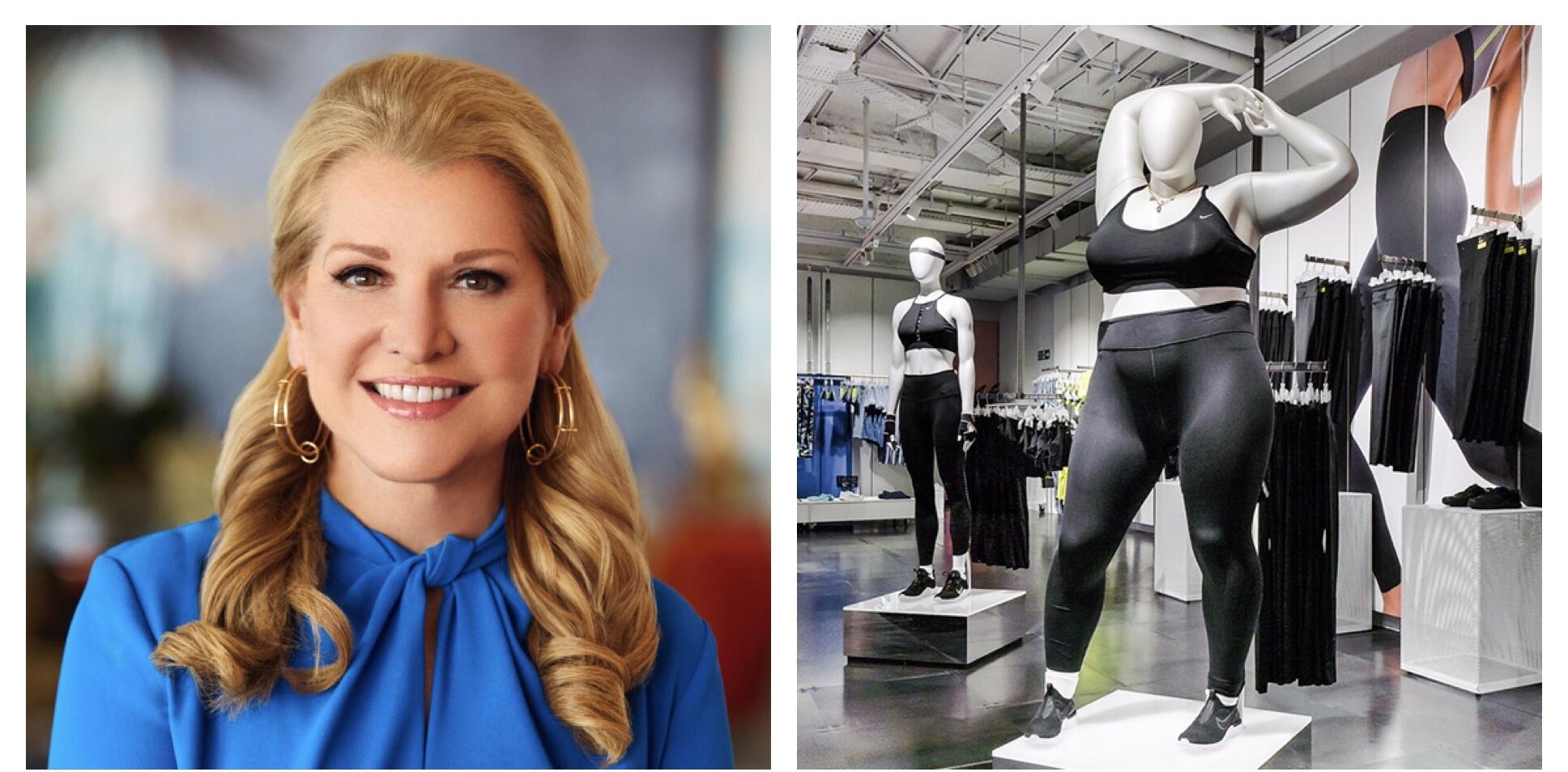 Nike Plus Size Mannequin Backlash Former Nike Exec Responds Wwd