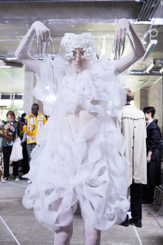 A look from women's wear graduate Lili Zhao