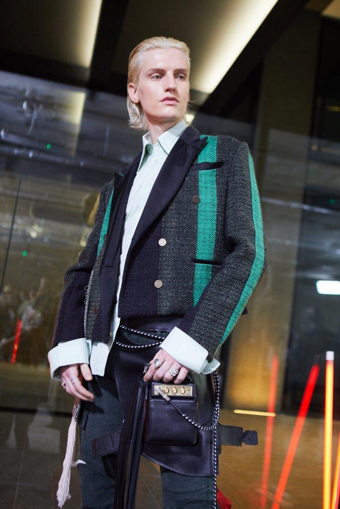 A look from men's wear graduate Sebastian Jauregui Calderon