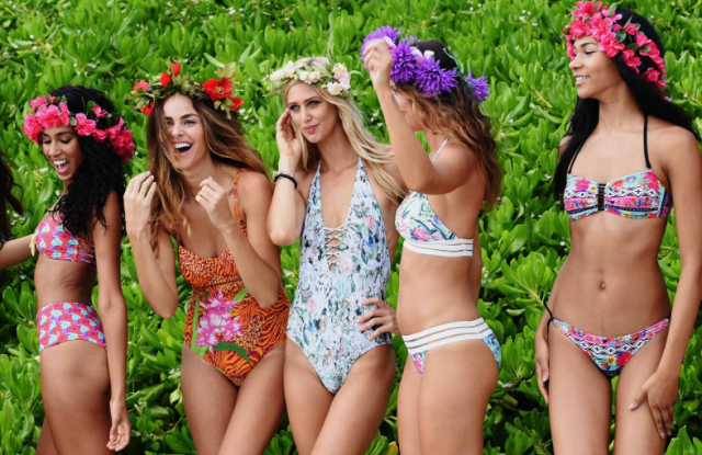 Nu Wave Swim is creating a tropical garden oasis at this year's Miami Swim Week.