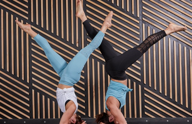 Some yoga looks from Gaiam.