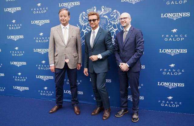 Charles Villoz, Simon Baker and Matthieu Baumgartner
