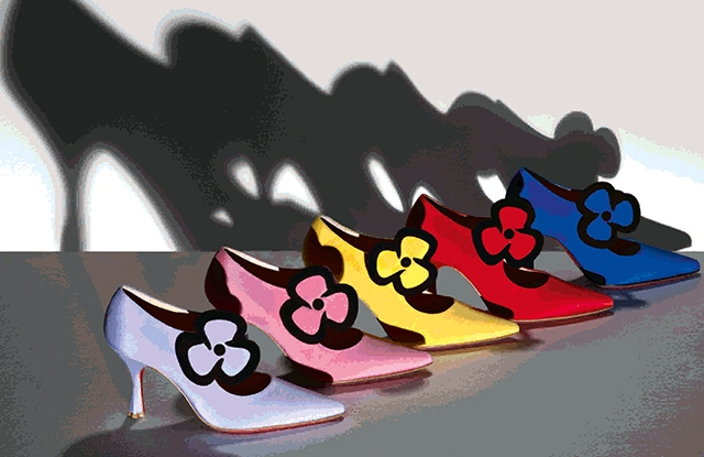 Pensée shoes by Christian Louboutin