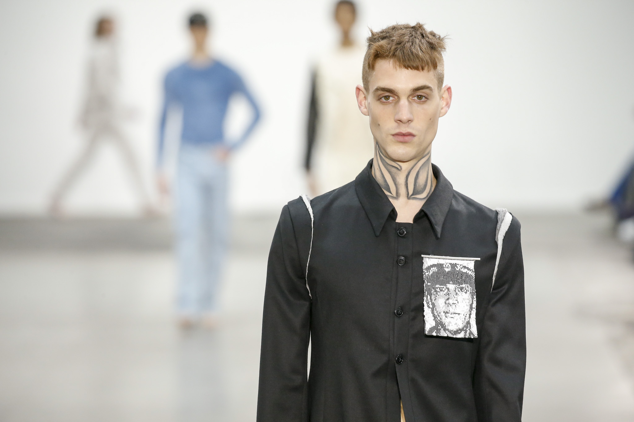 Per Gotesson Spring 2020 photographed in London on 09 June 2019